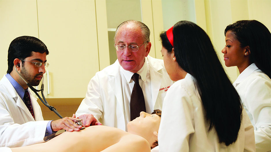 Medical Education Pioneer is a Donor for All Seasons
