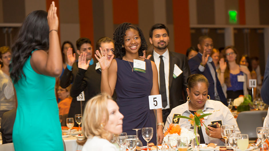 UM Honors Its Scholarship Recipients and the Donors Who Make Their Dreams Possible