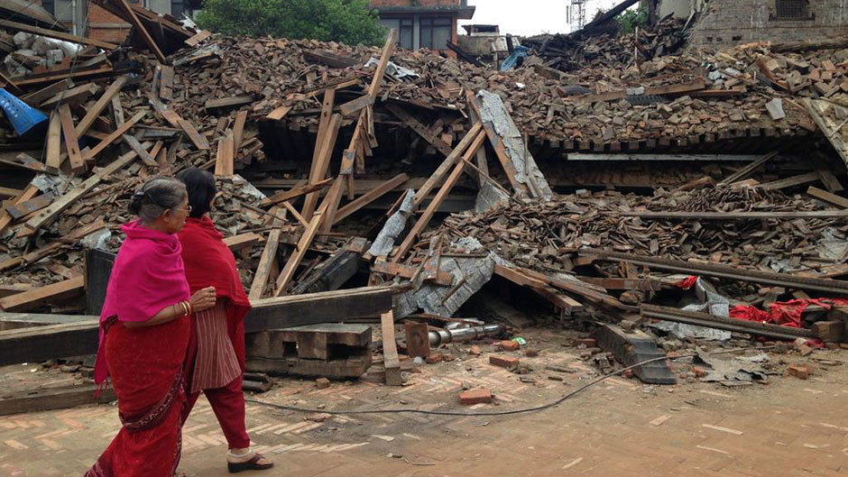 Relief Efforts Underway in Nepal