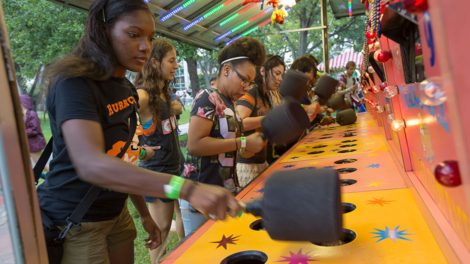 Students Celebrate the End of the Semester at 'Canes Carnival