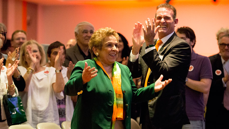 The House that Shalala Built Is Renamed in Her Honor