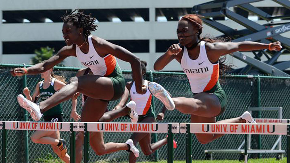 @MiamiTrack Heads to UF for Tom Jones Meet