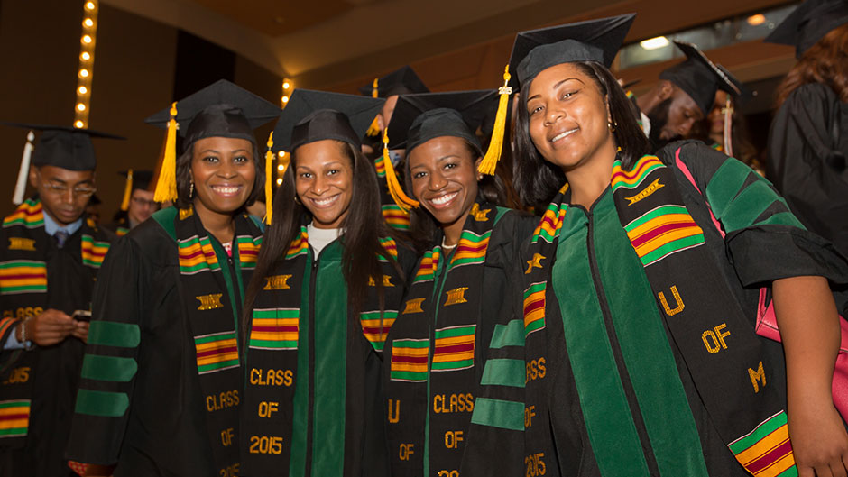 Senior Mwambo Ceremony Honors UM's Black Graduates