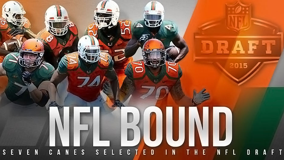 Seven Miami Players Picked in NFL Draft
