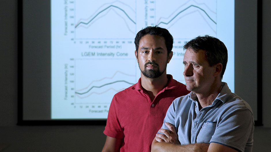 Researchers' Study Could Improve Forecasts of Hurricane Intensity