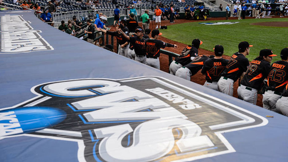Baseball Recognized As Top GPA Holder at CWS