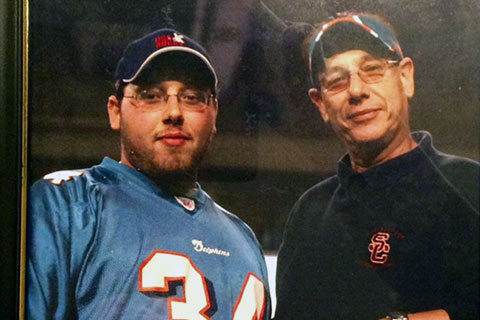 Steven Sotloff, with his father, Arthur