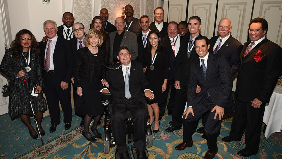 Sports Legends Gather to Support Spinal Cord Injury Research