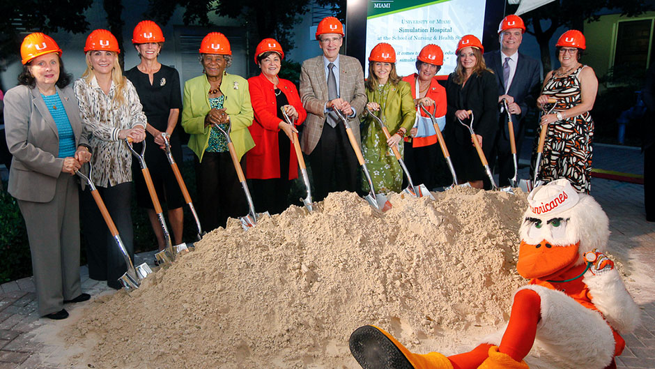 Simulation Hospital Breaks Ground to Transform Education and Patient Care