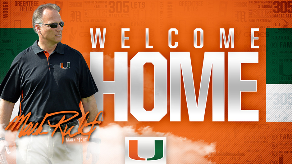 Richt Named New Football Coach