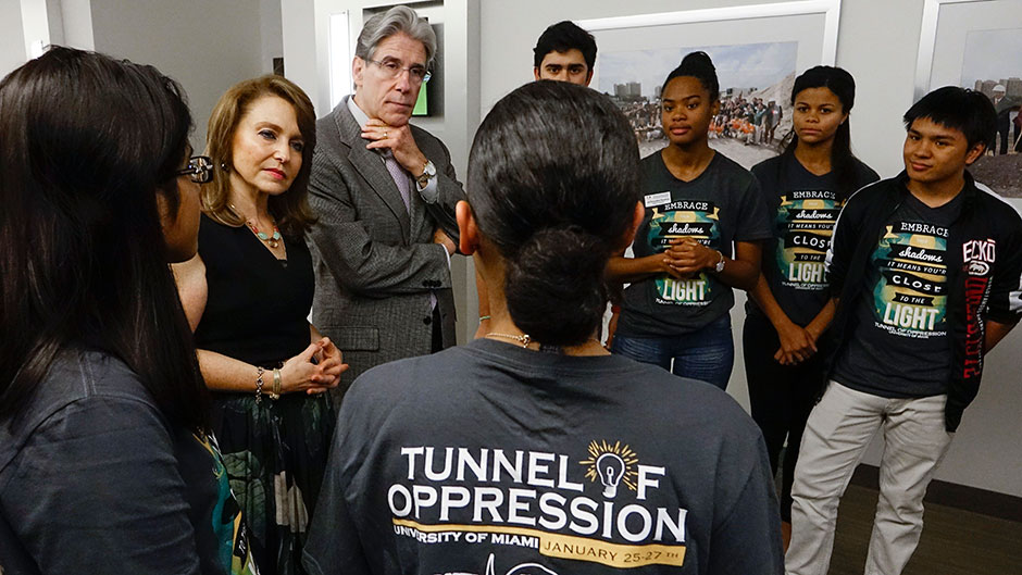 Tunnel Sheds Light On Oppression