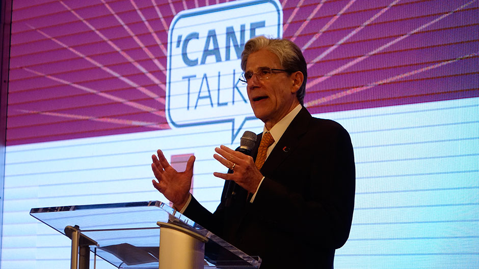 President Frenk at 'Cane Talks