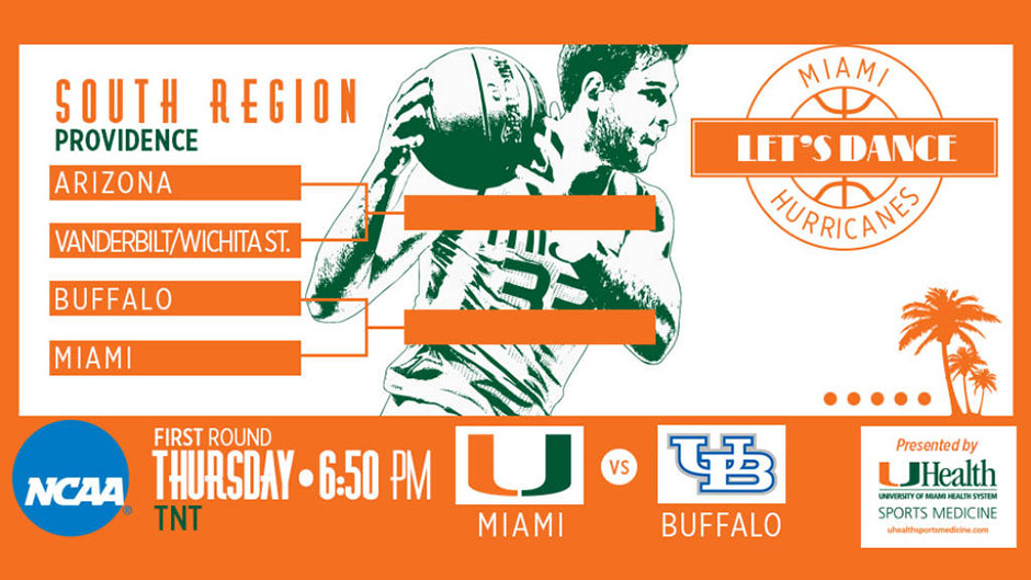@CanesHoops Earns No. 3 Seed in NCAA Tournament