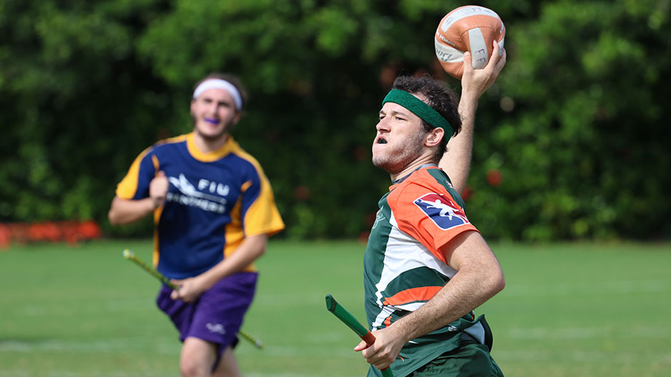 Bernie Berges has been named to the U.S. Quidditch National Team