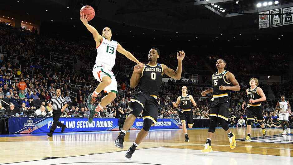 Angel Rodriguez takes over midway through the second half