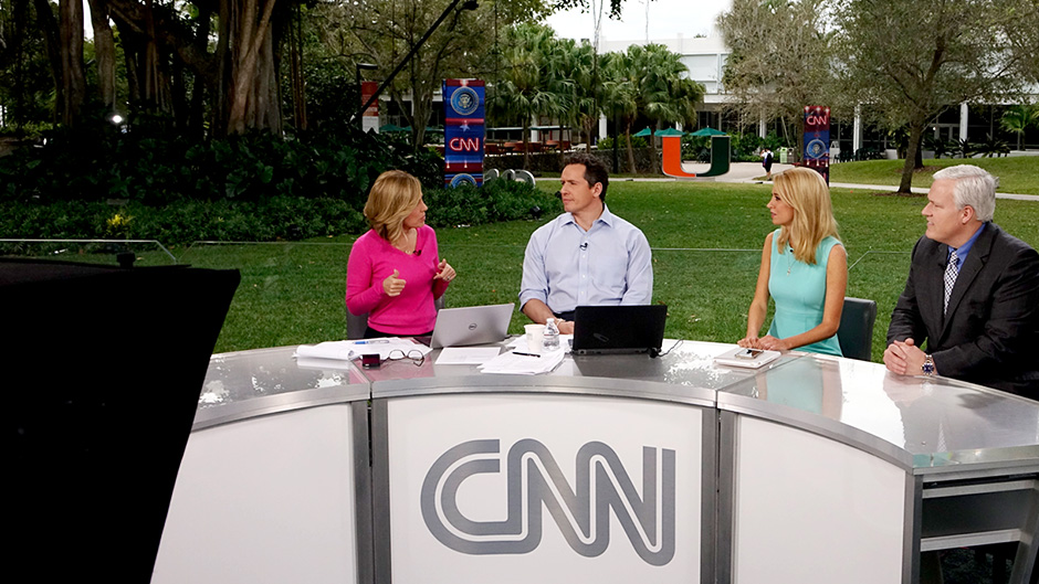 CNN on UM campus