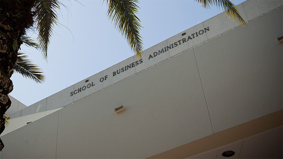 School of Business Administration building