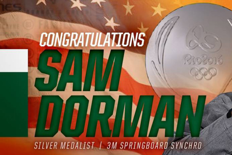 United States Olympian Sam Dorman