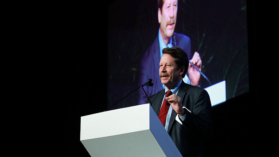 Robert M. Califf delivers keynote address