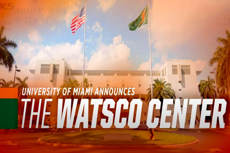 Miami Announces the Watsco Center