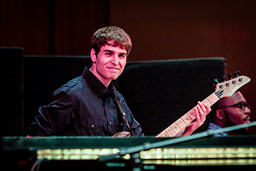 Bassist Chris Croce, B.M. '14