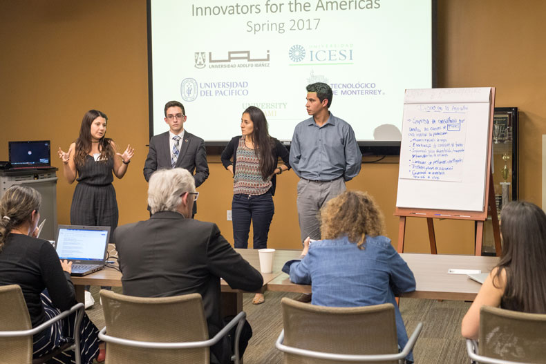University of Miami, School of Business Administration, CIBER, Innovators for the Americas