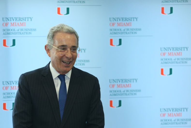 Alvaro Uribe, University of Miami, Global Executive MBA for the Americas, UM Business