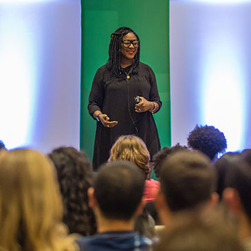 Alicia Garza Urges Students to Make a Difference