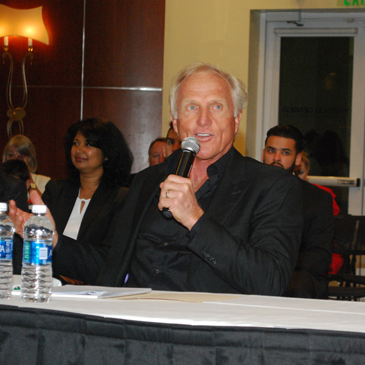 Greg Norman, Sport Industry Conference, USport, University of Miami