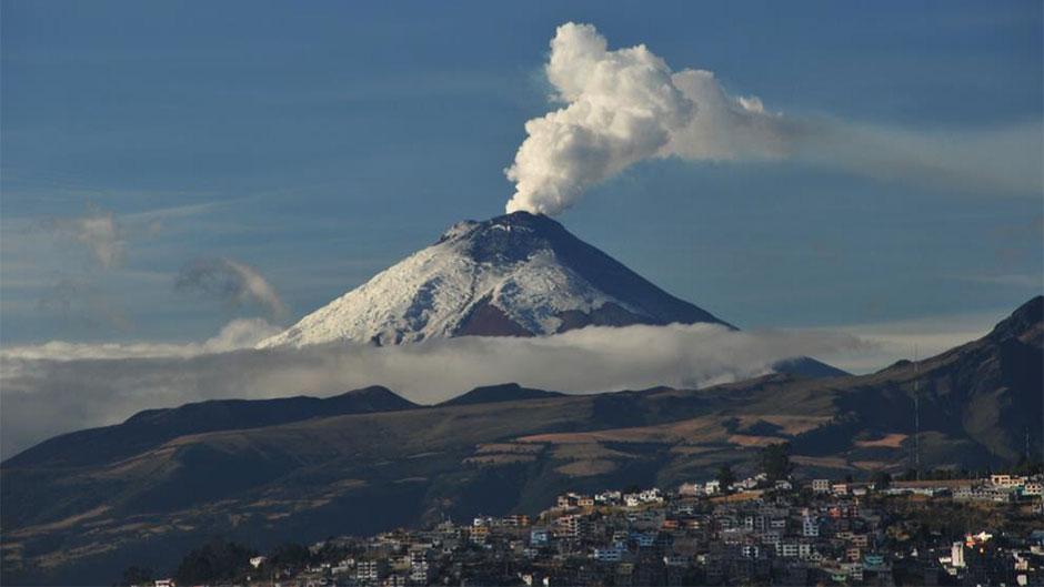 Cotopaxi volcano, Andes Mountain region of Ecuador
