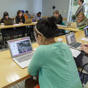 Disaster Relief Mapathon at UM Libraries