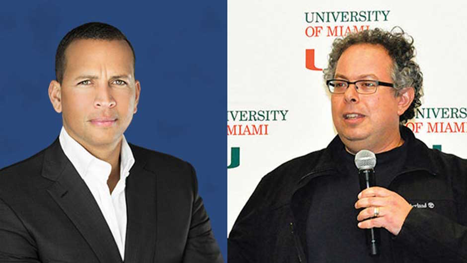 Alex Rodriguez and Rony Abovitz - Fall Commencement Speakers
