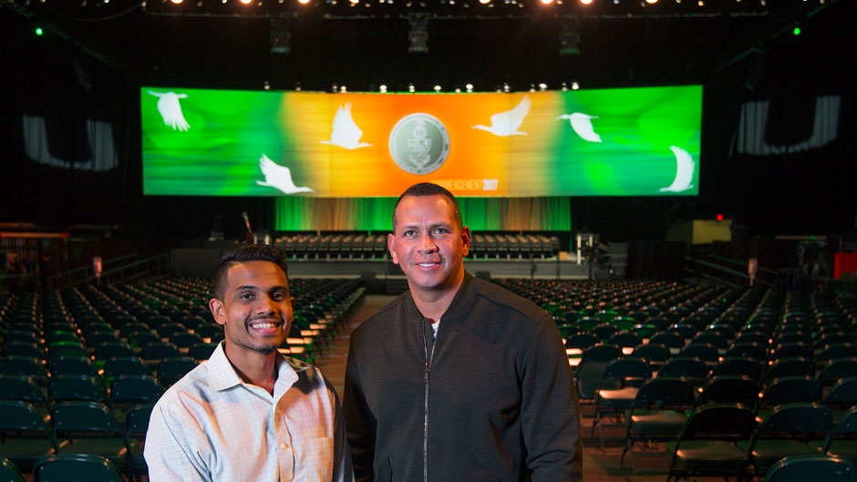 Alex Rodriguez, commencement profile, Boys and Girls Club Scholarship