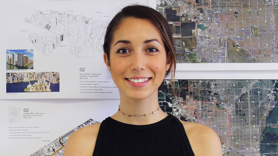 School of Architecture, commencement profile, student profile, Daniela Deu
