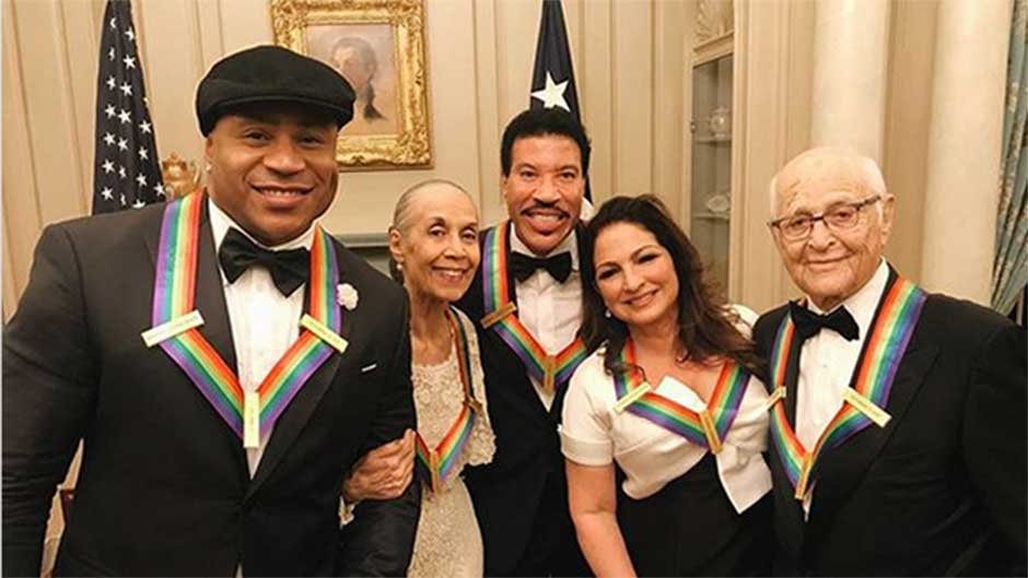 Gloria Estefan with Fellow Kennedy Center Honorees