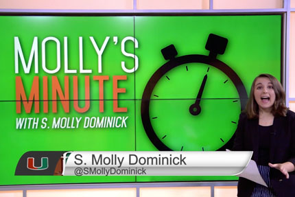 S Molly Dominick hosts Off The Wire