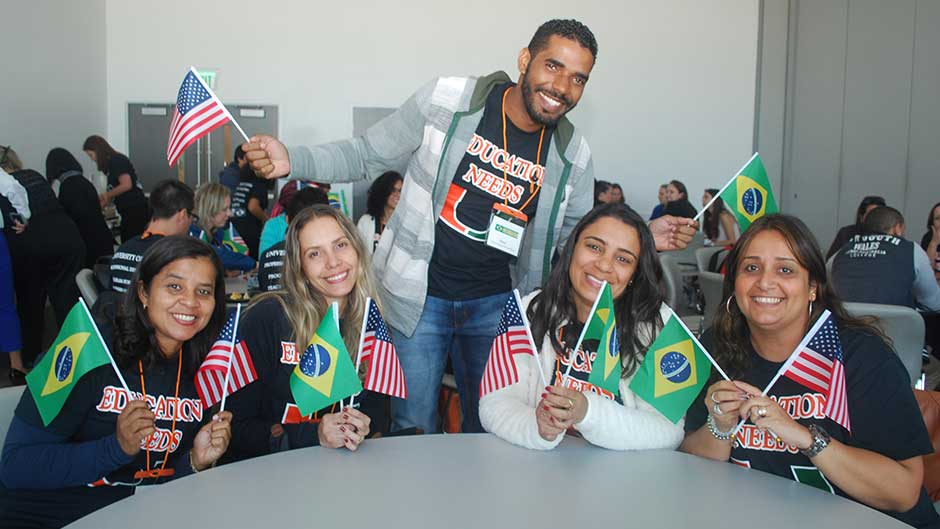 Brazilian Teachers Learn at UM