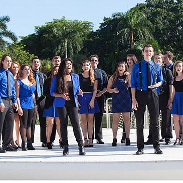 a cappella group