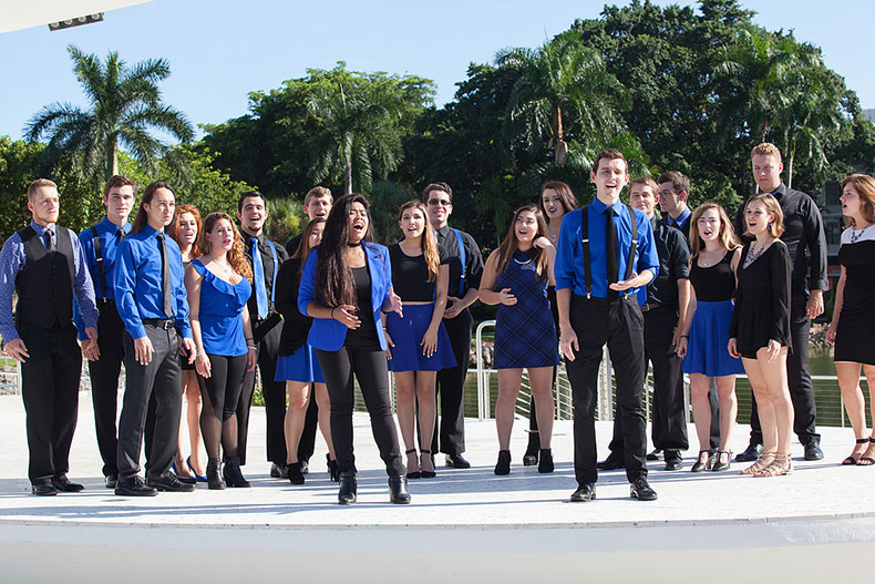 a cappella group