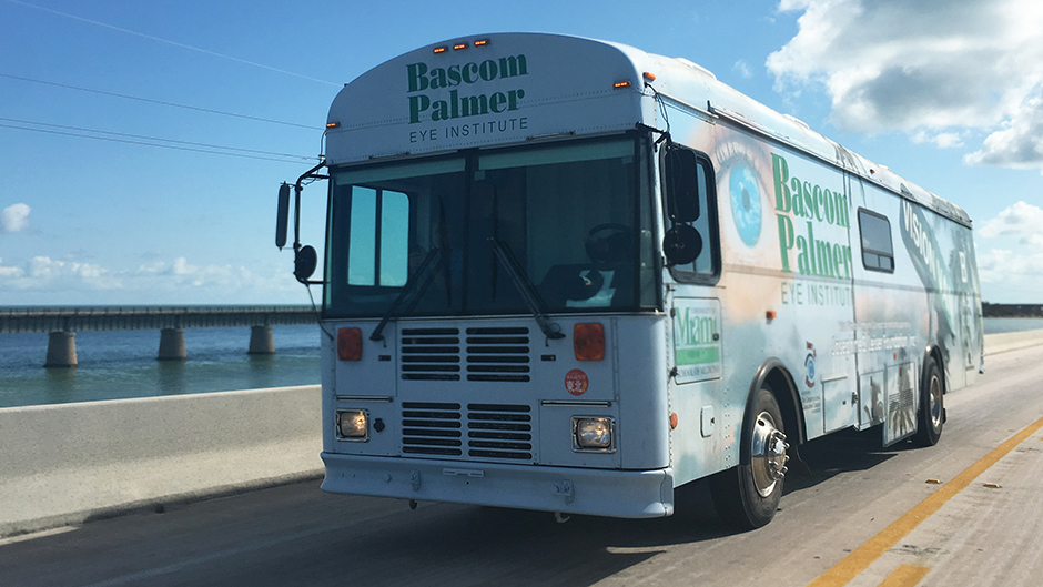 Bascom Palmer's Vision Van Provides Relief Care to the Keys