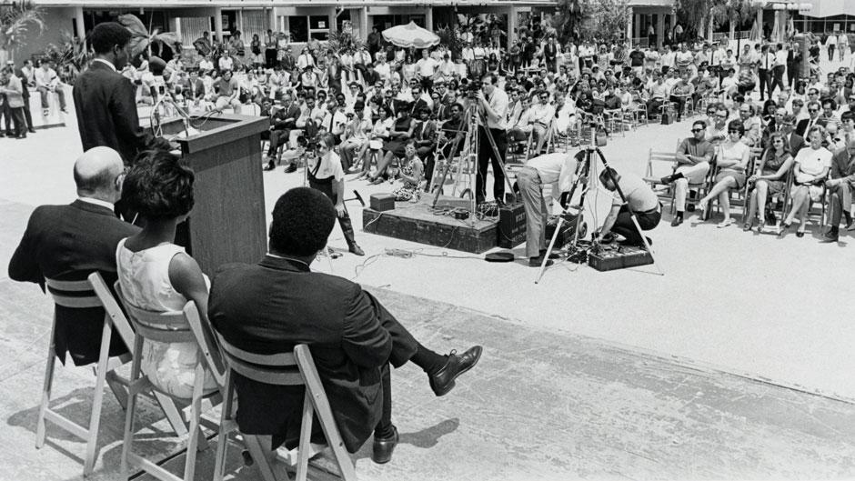 MLK Memorial on UM campus