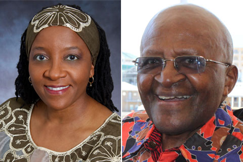 Nonrrombia Naomi Tutu and Desmond Tutu