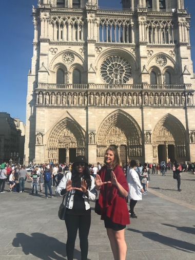 Ouendeno and Lynch at Notre Dame