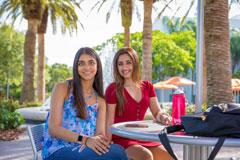 Divina Chandiramani and Ariana Madan