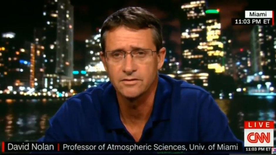 RSMAS Researcher David Nolan on CNN