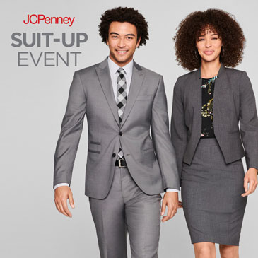 JCPenney Suit Up flyer