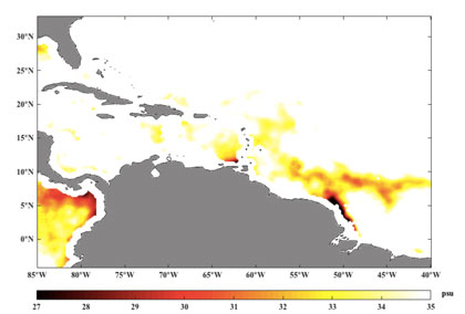 Amazon-Orinoco River Plume graphic