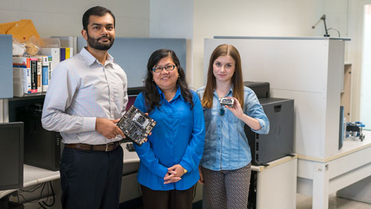 Researchers from the College of Engineering