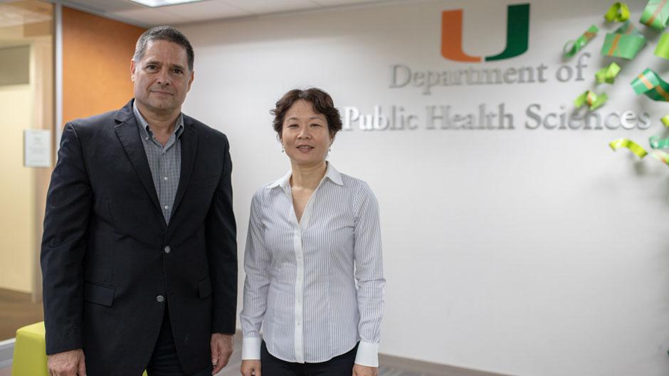 David Lee and Diane Zheng