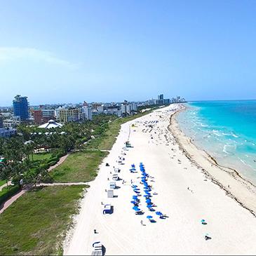 Miami Beach shoreline
